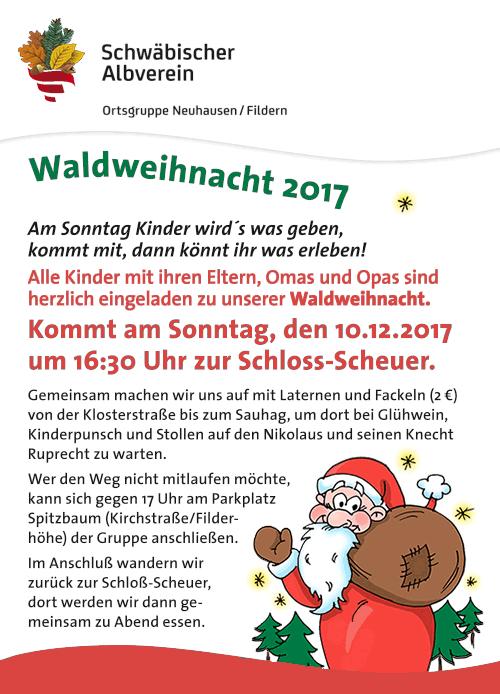 Bild Waldweihnacht 2017