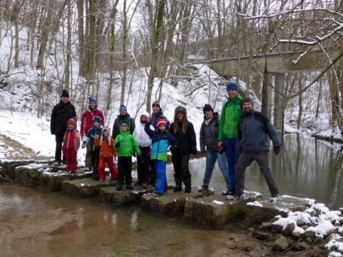 Bild Familiengruppe - Märzenbecherwanderung I